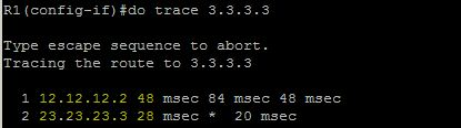 traceroute 3.3.3.3